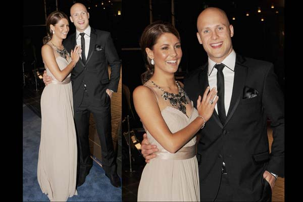 Gary Ablett and Lauren Phillips
